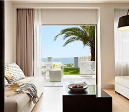 Dhome familjare Superiore me pamje nga deti