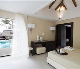 Suite Deluxe me pamje nga deti me pishine private